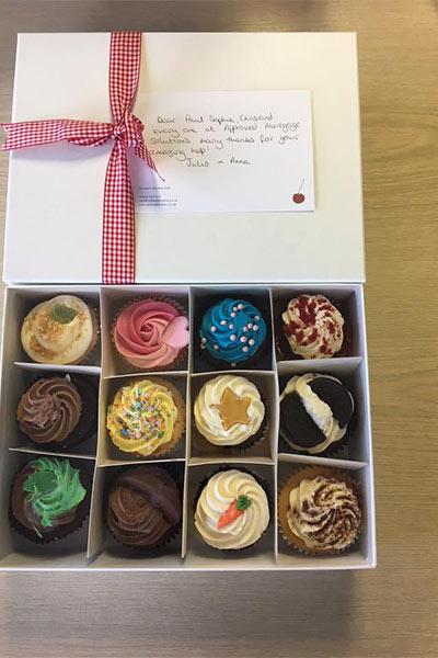 Gift: Box of chocolates